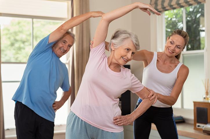 Physiotherapie zuhause